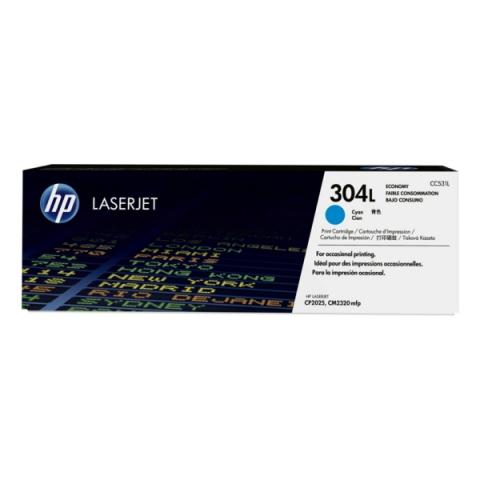 HP CC531L Toner original HP 304L f�r ca. 1.400