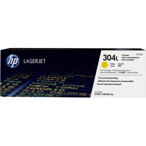 HP CC532L Toner original HP 304L für ca. 1.400