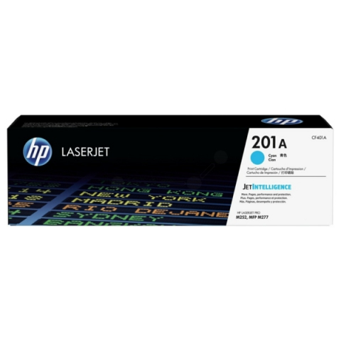 HP CF401A Toner, original HP passend für Color