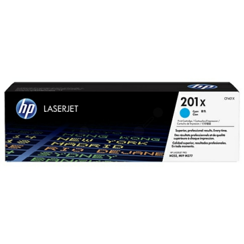 HP CF401X Toner, original HP (XL Version)