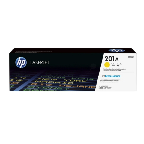 HP CF402A Toner, original HP passend für Color