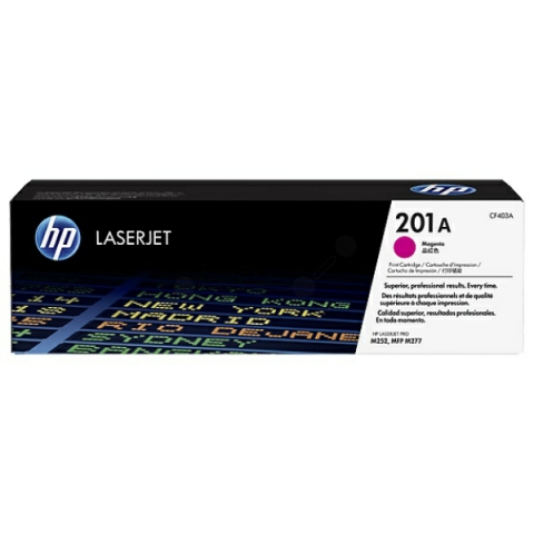HP CF403A Toner, original HP passend für Color