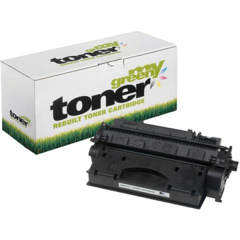 My Green Toner Toner, ersetzt CE505X, für HP