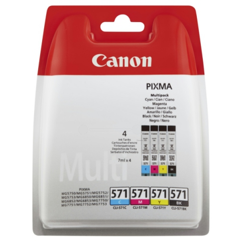 Canon CLI-571CMYKP Multipack für MG5750,