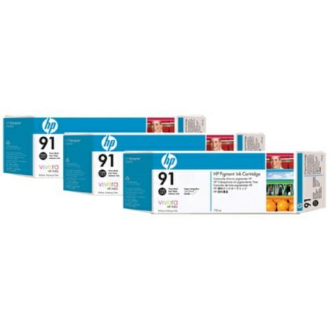 HP C9481A Multipack Tintenpatrone HP No. 91 mit