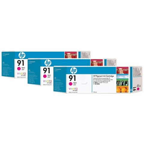 HP C9484A Multipack Tintenpatrone HP No. 91 mit
