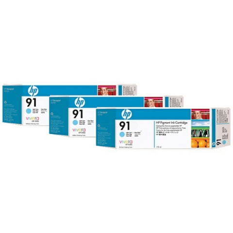 HP C9486A Multipack Tintenpatrone HP No. 91 mit