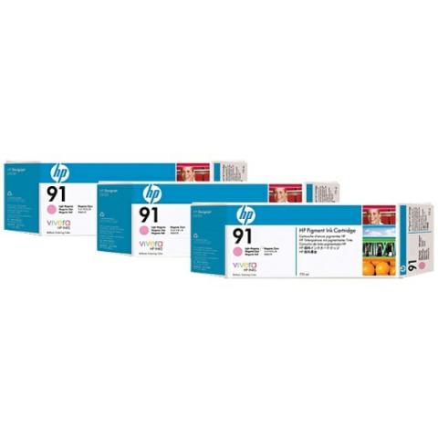 HP C9487A Multipack Tintenpatrone HP No. 91 mit