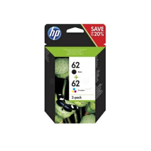 HP N9J71AE Multipack Druckerpatronen HP 62 (1x