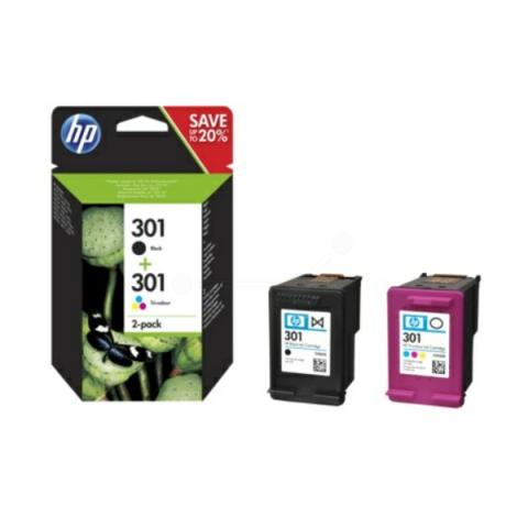 HP N9J72AE Multipack Druckerpatronen 301 (1x