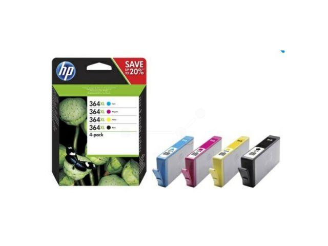 Kombipackung Originalpatronen HP No.364 BK XL / CXL / MXL / YXL je für ca. 1 x 550 Seiten und 3