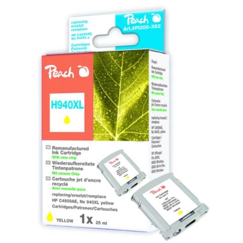 Peach Tintenpatrone kompatibel zu HP C4909AE No.