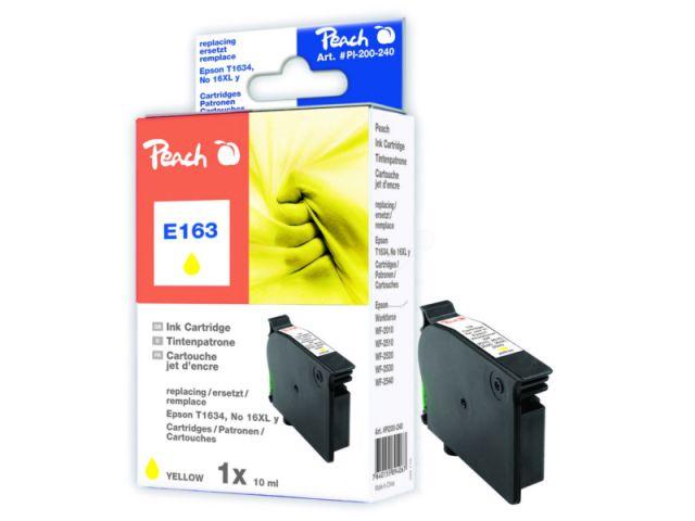 Tintenpatrone ersetzt Epson 16XL C13T16344010, XL-Kapazität ca. 9 ml Inhalt, gelb
