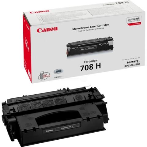 Canon 0917B002 Toner 0917 B 002 , 708 H, schwarz