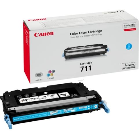 Canon 1659B002 Toner, original 711 C für ca.