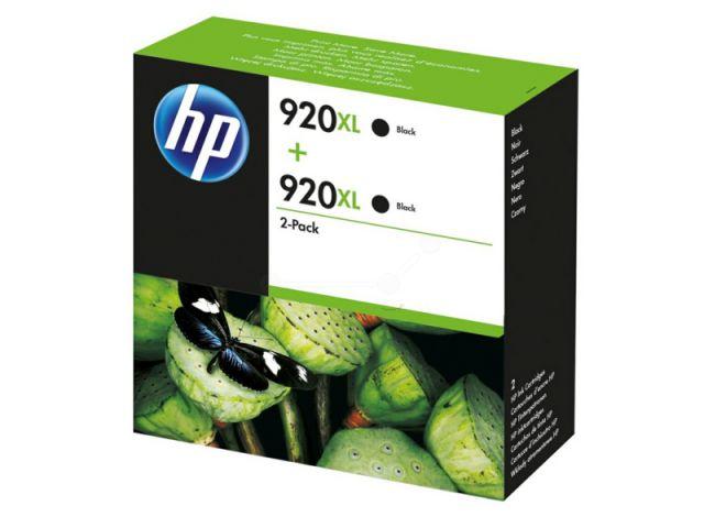 D8J47AE Doppelpack Druckerpatronen HP NO 920XL, mit 2 x 32 ml, passend für Officejet 6000 /