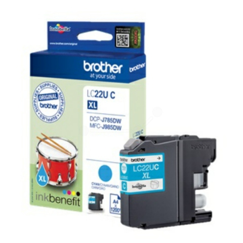 Brother LC22UC original Druckerpatrone passend