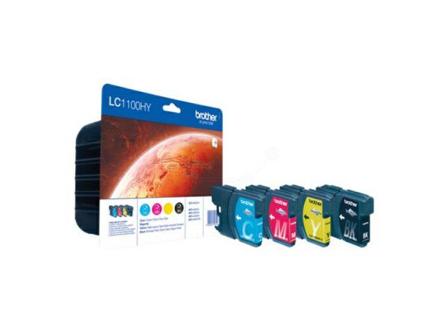 High Capacity Multipack mit Innobella Druckertinte mit 1 x 900 ml und 3 x ca.750 Seiten, color