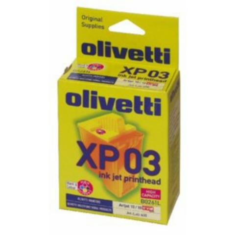 Olivetti Druckkopf 4-Farb High-Capacity B0261 ,
