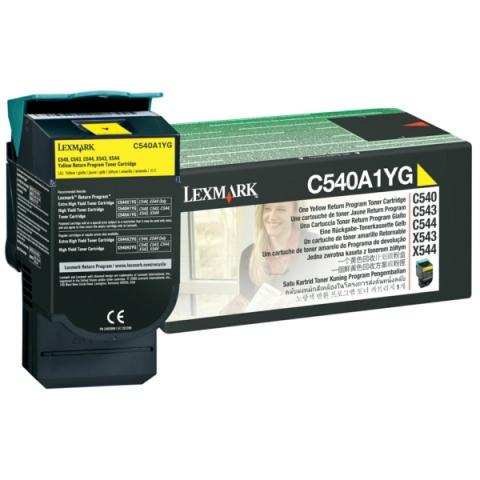 Lexmark 0C540A1YG Toner für Optra C543 , C540 ,