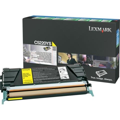 Lexmark 00C5220YS Toner für C520N , C522N ,