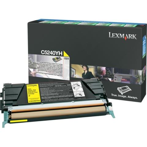 Lexmark 00C5240YH Toner für Optra C520N ,