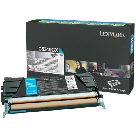 Lexmark 00C5340CX Toner Kit cyan Prebate