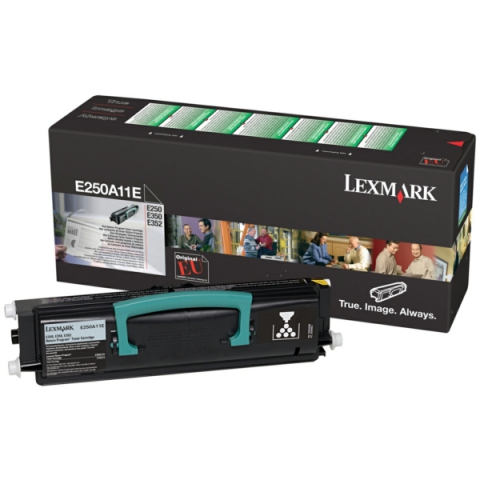 Lexmark E250A11E Toner (Prebate) schwarz 3500