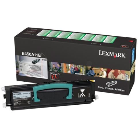 Lexmark E450A11E Toner für ca. 4.000 Seiten von