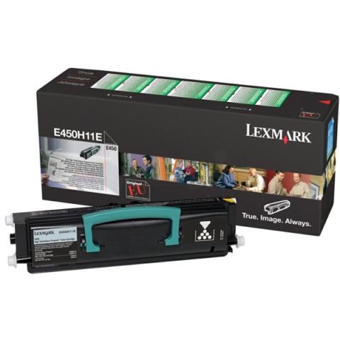 Lexmark E450H11E Toner f�r ca. 11.000 Seiten