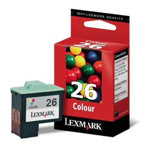 Lexmark 10N0026E Druckerpatrone Nr. 26 f�r ca.