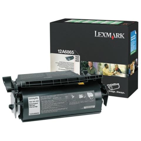 Lexmark 12A6865 original Toner, original
