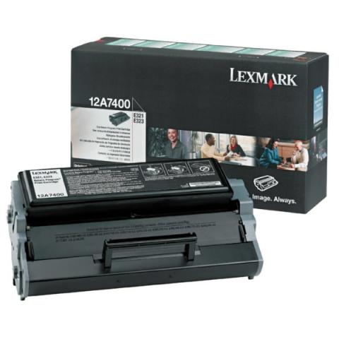 Lexmark 12A7405 original Toner, original