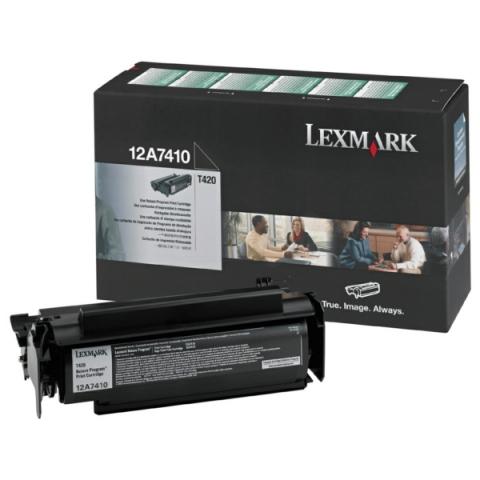 Lexmark 12A7410 original Toner, original