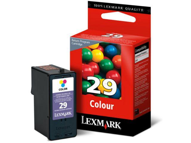 18C1429E Tintenpatrone aus dem Returnprogramm Lexmark NO29 f�r ca. 150 Seiten f�r X 2500 / X