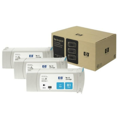 HP C5067A Tintenpatrone 3 x 680 ml HP , NO 81