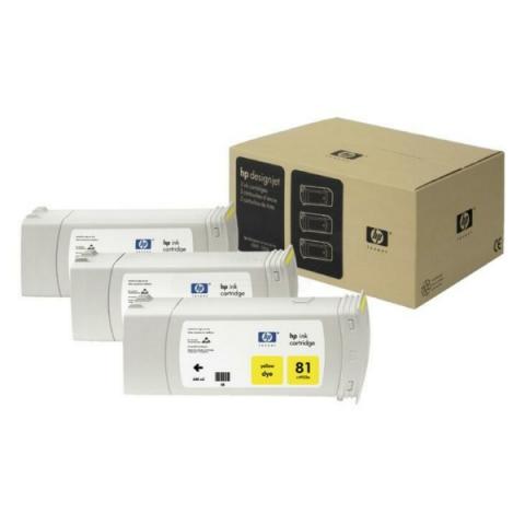 HP C5069A Tintenpatrone3 x 680 ml HP , NO 81 für