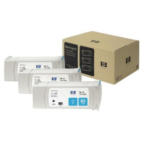 HP C5073A Tintenpatrone cyan, UV-Tinte C 5073 A