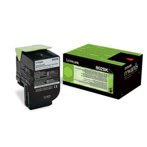 Lexmark 80C2SK0 original Toner,