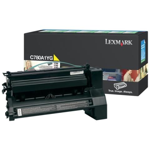 Lexmark 0C780A1YG Toner für C782DN , 782DTN ,