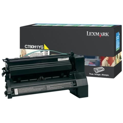 Lexmark 0C780H1YG Toner für C782DN , 782DTN ,