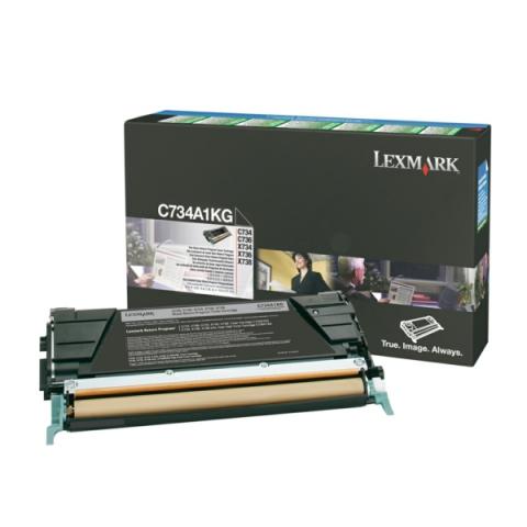 Lexmark 0C734A1KG Toner für C734 , C736 , X734