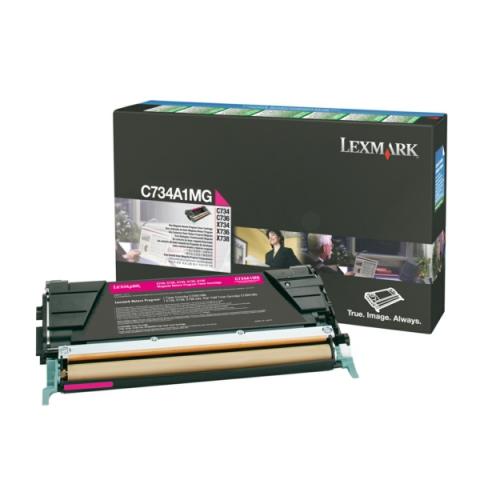 Lexmark 0C734A1MG Toner für C734 , C736 , X734