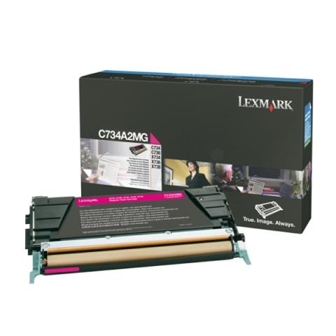 Lexmark 0C734A2MG Toner für C734 , C736 , X734