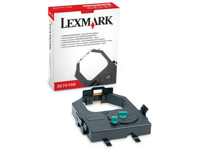 Lexmark Farbband 3070166 mit Nachtr�nksystem f�r ca. 4 Mio Zeichen, black