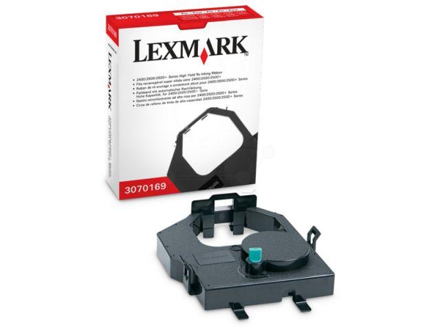 Lexmark Farbband 3070169 mit Nachtr�nksystem f�r ca. 4 Mio Zeichen, black