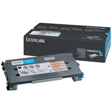 Lexmark C500S2CG Toner, original für C500 ,