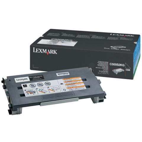 Lexmark C500S2KG Toner, original f�r C500 ,