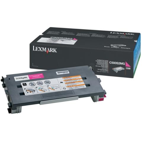 Lexmark C500S2MG Toner, original f�r C500 ,