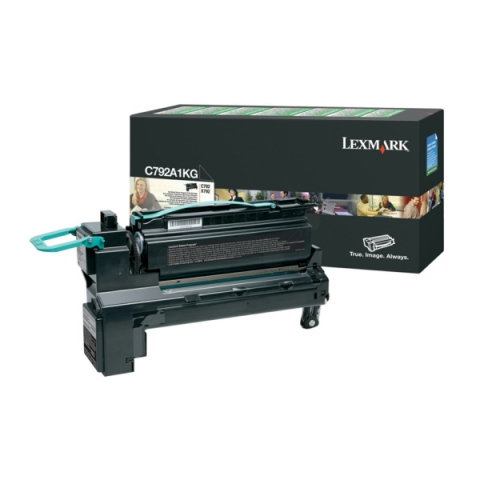 Lexmark C792A1KG Toner für C792DE , DHE , DTE ,